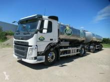 Camion Volvo FM 450 Milchsammler, Euro 6, 2 x 5.500 Liter citerne alimentaire occasion