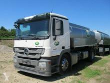 Camion citerne alimentaire occasion Mercedes 1841 L Milchsammler, 12.600 Liter, 3 Kammern,EEV