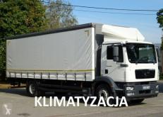 Ciężarówka furgon używana MAN TGM 18.290 euro 5 kontener-firanka 20 palet