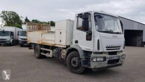 Камион превоз на строителна техника втора употреба Iveco Eurocargo 160 E 22 K tector