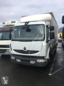 Renault ponyvával felszerelt plató teherautó Midlum 160.08 DXI