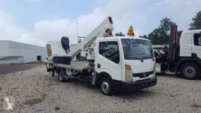 Used articulated aerial platform truck Nissan Cabstar