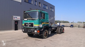 Camion châssis occasion MAN 24.362 (6X4 / FULL STEEL / 6 CYLINDER / MANUAL PUMP)