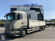 Camión caja abierta Scania Hiab 144 E-4 | Retarder | Euro 5