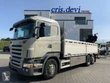 Camion plateau ridelles Scania R440 6x2 Hiab 144 E-4 | Retarder | Euro 5