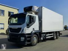 Camião Iveco Stralis 360*EEV*Carrier Supra 850*Portal*6x2 frigorífico usado