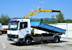 Camion Mercedes ATEGO 815 Kipper 3,80m+Kran* 4x2 cassone usato