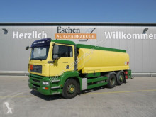 MAN tartálykocsi teherautó TGA 26.320 6x2 Lindner & Fischer A3, Oben/Unten