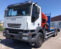 Камион платформа втора употреба Iveco 310 6X4 PALFINGER PK 44002 PLATAFORMA RAMPA HIDRAULICA