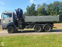 Camion plateau ridelles MAN TGS33.440