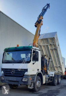 Mercedes Actros 3332 truck used three-way side tipper