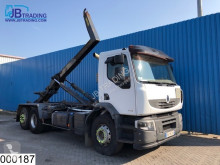 Camion Renault Lander 410 Dxi Manual, Hook lift, Retarder, Airco, Hub reduction, scarrabile usato