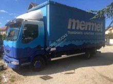 Camion cu prelata si obloane second-hand Renault Midlum 180