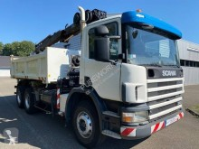 Scania two-way side tipper truck P 114P340