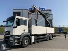 MAN TGS 26.400 6x2 BL Hiab 166 K PRO mit Steinzange truck used dropside