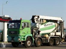Camião MAN TGA 32.410 /CEMENTMIXER LIEBHERR + TAPE 16 M betão betoneira / Misturador usado