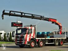 Ciężarówka platforma używana Volvo FM 380 / 8X4 /L:7,5 M/PALFINGER PK 23002 / RADIO