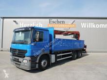 Camión caja abierta teleros Mercedes Actros 2641 L, 6x4, Palfinger PK 21001 L, Klima