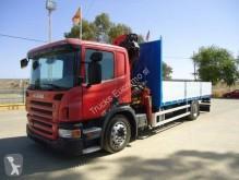 Camion plateau Scania