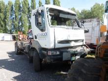 Camion Renault Kerax 300 polybenne accidenté