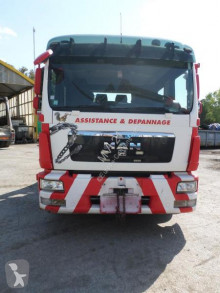Camion MAN TGL 12.250 dépannage accidenté