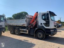 Renault three-way side tipper truck Kerax 380 DXI