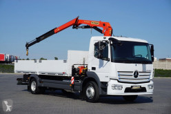 Camion plateau occasion nc MERCEDES-BENZ - ATEGO / 1218 / EURO 6 / SKRZYNIOWY + HDS