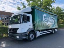 Camión caja abierta transporte de bebidas usado Mercedes AXOR 1824 Getränkewagen LBW / EURO 5