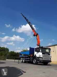 Camion Scania 300 6X2 VOLQUETE PALFINGER PK 29002 benne occasion