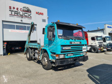 Camion Scania 93M 250 FULL STEEL, MANUAL PUMP multibenne occasion