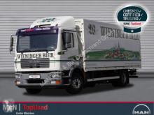 Camión caja abierta transporte de bebidas usado MAN TGM 15.280 4X2 BL Getränkewagen