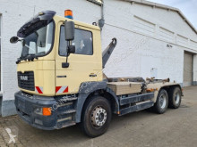 Camión Gancho portacontenedor usado MAN 27.403 6x4 /6x/35 Atlas Abollkipper Klima