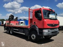 Camion plateau ridelles occasion Renault Kerax 430.26 DXI