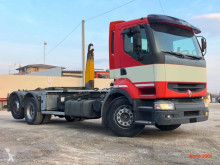 Kamión hákový nosič kontajnerov Renault Premium SCARRABILE 2001