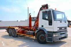 Camion polybenne Iveco MT190E30 SCARRABILE CON GRU BALESTRATO ANTER