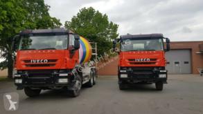Used concrete mixer truck Iveco AD260T36 6x4 7Qubik Liebherr Euro:5 ZF-Schalte