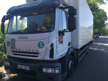 Used refrigerated truck Iveco ML120 E22 Kühlkoffer LBW Deutsche Maschine