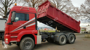 Used tipper truck MAN 33.440 TGS Kipper+SZM Meiller/Jet/Stahl