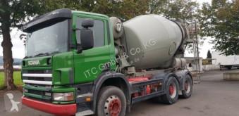Used concrete mixer truck Scania 124-300PS 6x4 7Qubik Stetter Euro:4 ZF-Schalte
