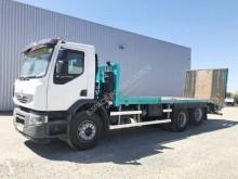 Камион превоз на строителна техника втора употреба Renault Premium Lander 430.26