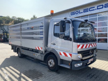 Camion plateau occasion Mercedes Atego 816 4x2 Euro 4 Pritsche 5,2 m mit LBW