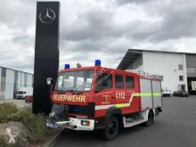 Mercedes fire truck 814 LF 8 Feuerwehrfahrzeug Diff.-Sperre 9 Sitze