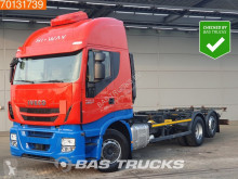 Камион BDF втора употреба Iveco Strailis Hi-Way AS440S46 ACC Intarder Liftachse Standklima Navi