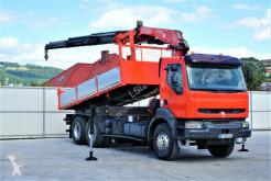 Camion benne occasion Renault KERAX 360 DCI Kipper 4,70m+Kran/FUNK*Topzustand!