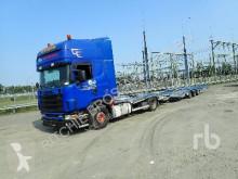 Camion porte voitures Scania R114-380