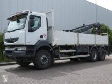 Camión caja abierta teleros usado Renault Kerax 320.26 DCI