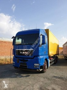 Camion fourgon occasion MAN TGX 26.480