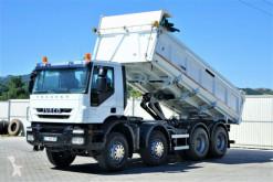 Camion Iveco Trakker 410 Kipper + Bordmatic 6,00m 8x4 !! benne occasion