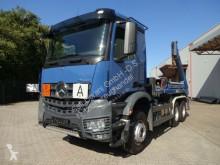 Camion benne occasion Mercedes Arocs 2645 Absetzkipper MEILER Funk 6x4