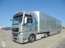 Ensemble routier porte voitures occasion MAN TGX